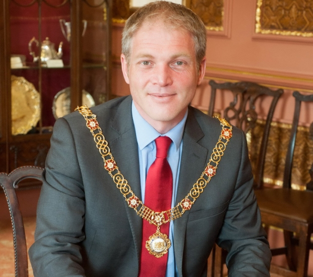 New Mayor of Bath Pictures Sam Farr For The Charter Trustees of the City of Bath 02/06/2015